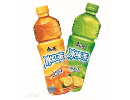 冰茶饮料瓶 瓶标